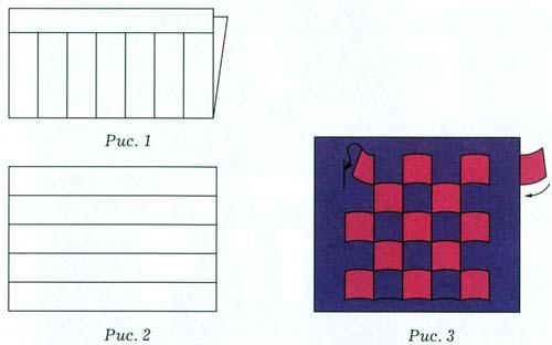 Схемы плетение из бумаги своими ковриков