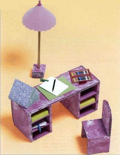 Поделки для кукол стул