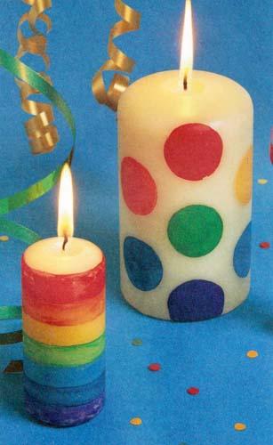 Поделка Свечи и подсвечники