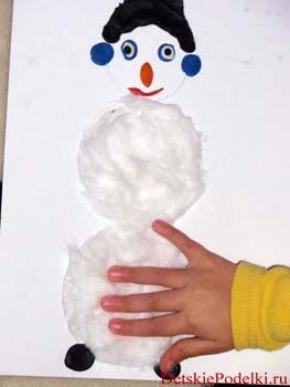 Делаем снеговика без снега
